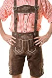 lederhosen4u''KAISER'' German Bavarian Tracht Oktoberfest Lederhosen For Sale Brown 38