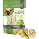 Only Natural Pet Buffalo Ears Single Bag (3 Chews)