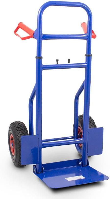belastbar bis 200 kg strapazierf/ähig Sackkarre mit klappbarer Plattform