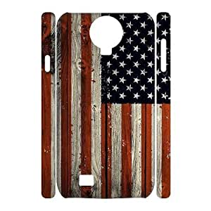 American Flag Unique Design 3D Cover Case for SamSung Galaxy S4 I9500,custom cover case ygtg-773212