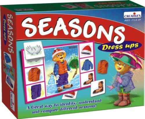Creative Educational Creative Pre-School Seasons Dress Ups