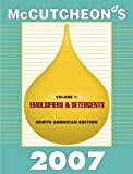 McCutcheon's Emulsifiers and Detergents : North American Edition, Michael Allured, 1933430133