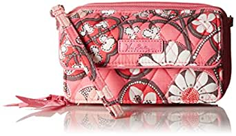 Vera Bradley All In One 6 Plus Cross Body Bag, Blush Pink, One Size