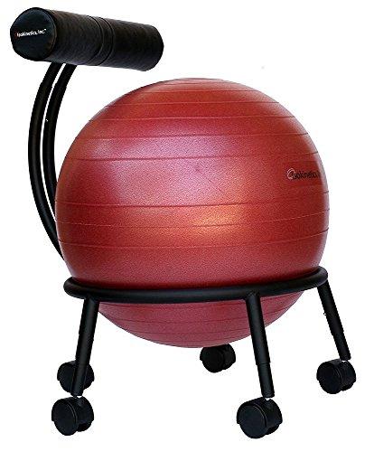 isokinetics adjustable fitness ball chair