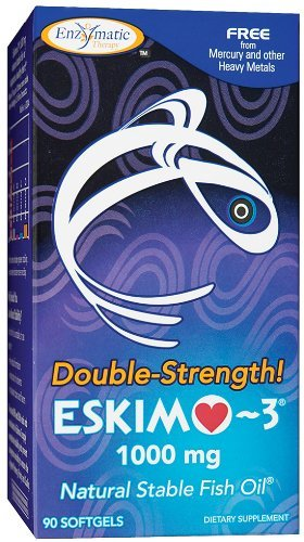 Enzymatic Therapy - Double Strength Eskimo-3 1000 Mg, 1000 mg, 90 softgels
