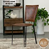 LDP-Iron Art Nouveau coffee seat soft pack leather chairs upscale leather chairs creative cafe lounge chairs, recliner seat black