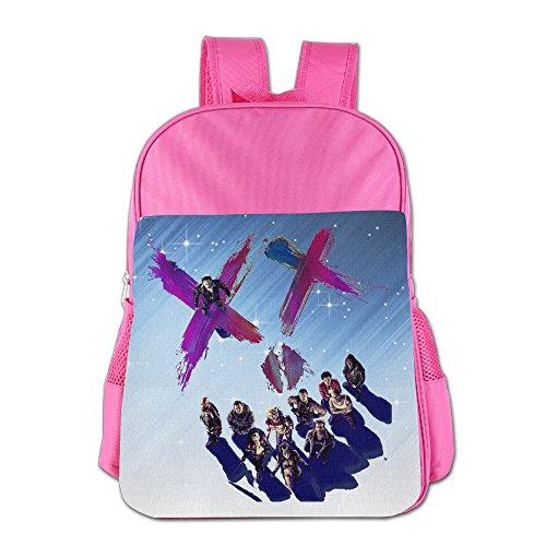 [FUOALF Suicide Squad Team Kids Children Boys Girls Shoulder Bag School Backpack Bags] (Harley Quinn No Costumes)