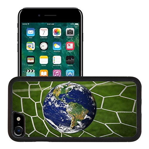 Liili Apple Iphone 7 Iphone 8 Aluminum Backplate Bumper Snap Iphone7 8 Case Iphone6 Image Id  16215494 Earth Globe In Goal Net With Green Grass Field