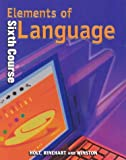 Elements of Language, O'Dell, 0030526698