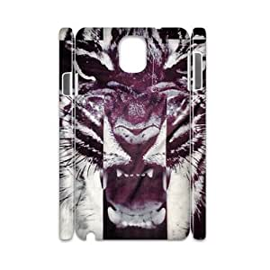 Tiger Roar Cross 3D-Printed ZLB515327 Customized 3D Cover Case for Samsung galaxy note 3 N9000
