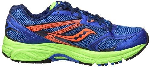 Saucony 25262-22, Zapatillas de Deporte Unisex Adulto Varios colores (Blue /         Black /         Citron)