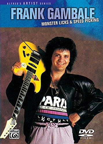 DVD : Frank Gambale - Monster Licks-speed Pick (DVD)