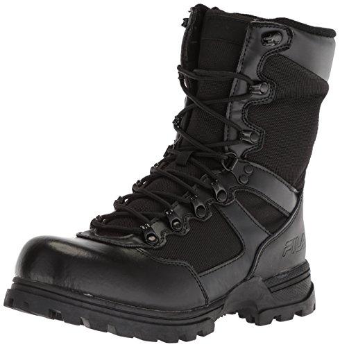 Fila Menns Stormer Militære Og Taktiske Boot Svart / Svart / Svart