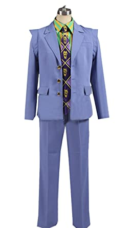 Amazon Com Cosnew Halloween Kira Yoshikage Party Jacket Outfits