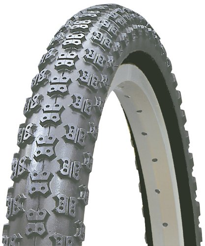 Kenda Comp III Style BMX Wire Bead Bicycle Tire, Blackwall, 20-Inch x (Kenda K50 Bmx Tire)