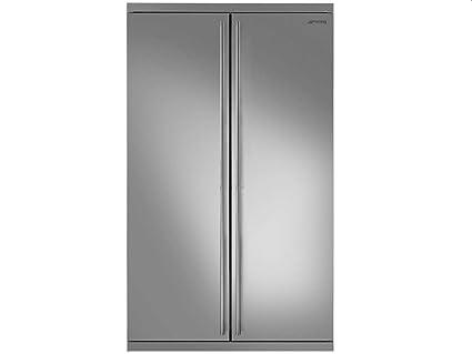 Side By Side Kühlschrank Ohne Gefrierfach : Smeg side by side kühl gefrier kombination edelstahl