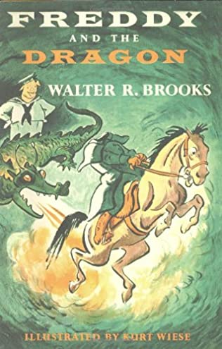 book cover of Freddy and the Dragon