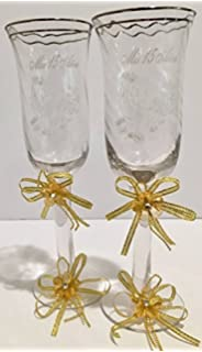 Mis Quince Años Toasting Glass Cups Gold Acrylic Flower Quinceanera Copas Keepsake