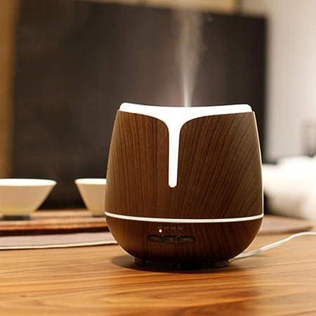 YFQ 300ml Holzmaserung Ätherisches Öl Diffusor Ultraschall Aroma Luftbefeuchter Schlafzimmer Spray Plug-in Automatische Induk