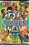 Pulquerias 4 Peliculas [La Pulqueria 1 & 2 & 3 & 4] Alfonso Zayas & Jorge Rivero & Sasha Montenegro