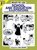 Ready-to-Use School and Education Illustrations (Dover Clip-Art Series)