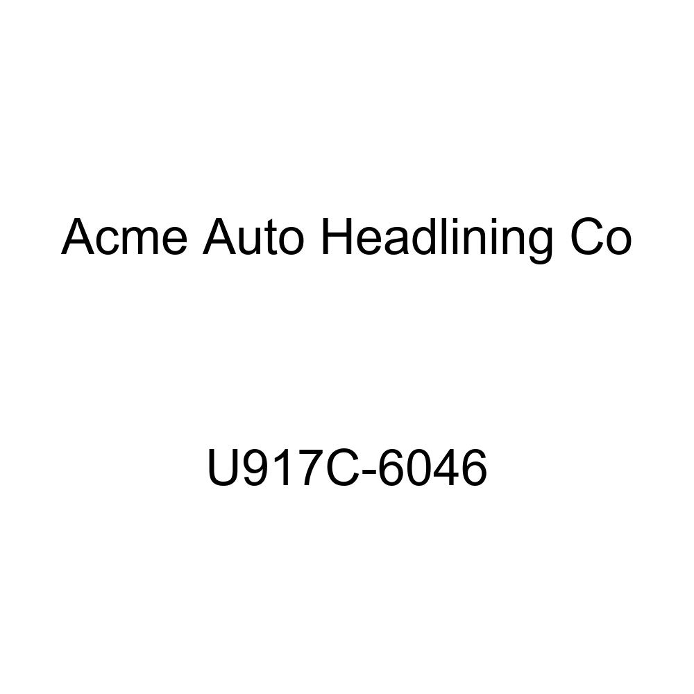 Acme U917C-6046 Front and Rear Light Oxford Gray Vinyl Bench Seat Upholstery