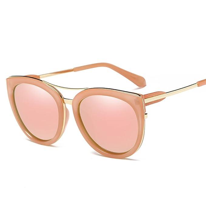 c4746e30fb3 W.ent Metal UV400 Polarized Cat Eye Style Sunglasses