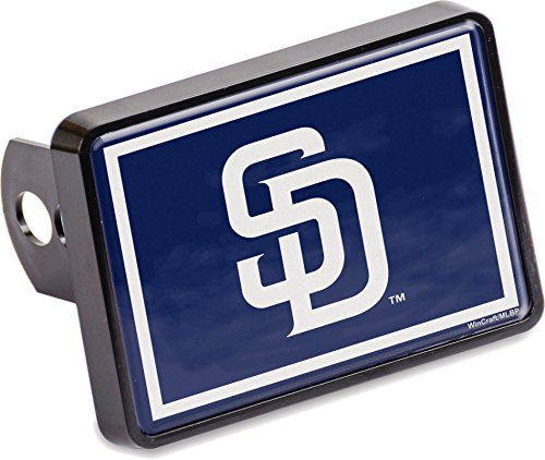 Stockdale San Diego Padres Universal Hitch Cover Color Bumper Trailer Auto Cap Baseball