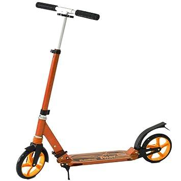 ZHIJINLI Scooter de Dos Ruedas para niños Boost Bicicleta Plegable Viaje Adulto Paso Fresco Carro Deslizante Coche de Juguete Coche Scooter: Amazon.es: ...
