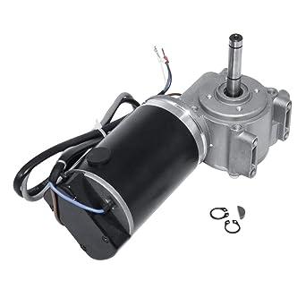 Motor de puerta eléctrico DC 24 V 60 W/100 W con motor de engranaje de gusano con codificador inteligente para hoteles, puerta automática, 24V-60W, 250 RPM: Amazon.es: Industria, empresas y ciencia