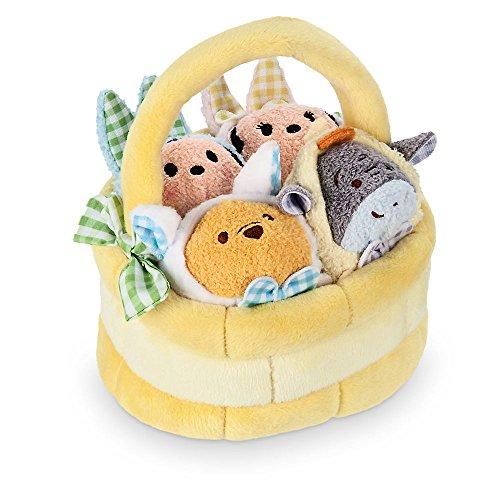 Disney ''Tsum Tsum'' Plush Mini Easter Basket Set