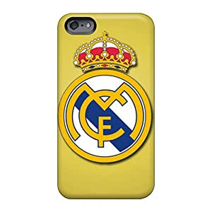 Durable Hard Phone Cases For Apple Iphone 6s Plus With Support Your Personal Customized Beautiful Real Madrid Cf Image Customcases88
