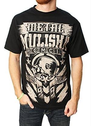 Metal Mulisha Unisex-Adult T-Shirt (Tee Mm Chalk)(Black, XX-Large) by Metal Mulisha