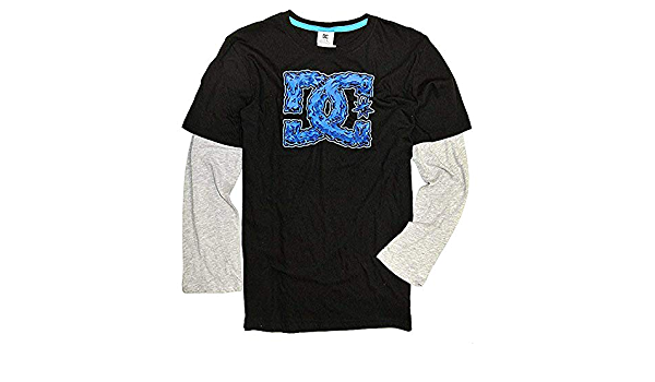 Long Sleeve T-Shirt for Boys 8-16 ADBZT03128 DC Shoes Square Star
