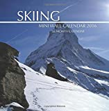 Skiing Mini Wall Calendar 2016: 16 Month Calendar by Jack Smith (2015-10-20)