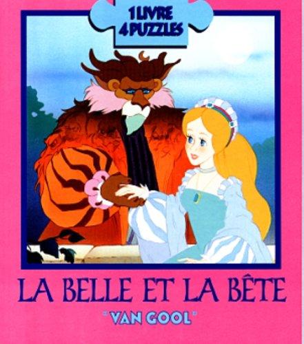 BELLE ET LA BETE -LIV.PUZZLE [R]