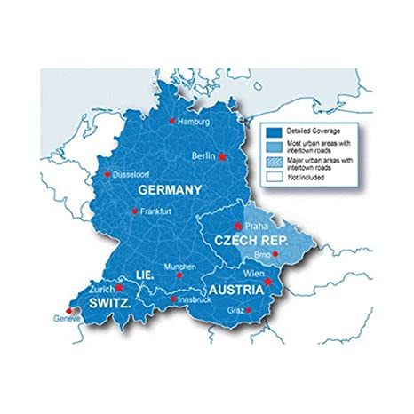 Map Of Germany And Switzerland.Garmin Maps Of Germany Austria Switzerland Czech Rep On Sd Card Microsd