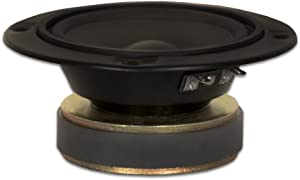 "Goldwood Sound 120 Watt 4ohm Poly Mica 5"" Speaker Midrange Black (GM-85/4)"