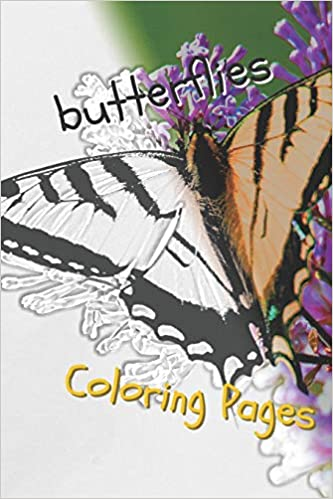 Amazon.com: Butterfly Coloring Pages: Perfect stress relief ...