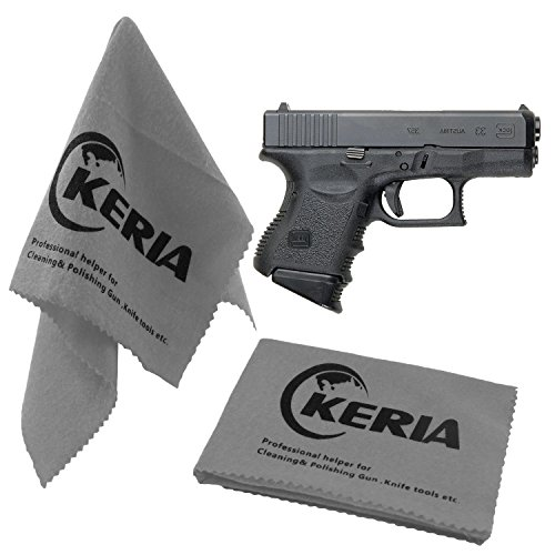 Keria 2 Pack Gun Cleaning Gun Care Silicone Cleaning Cloth Size 12