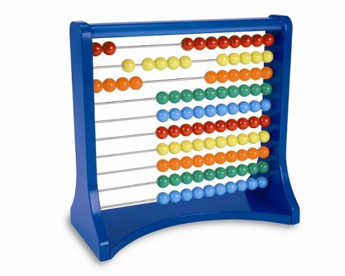 Learning Resources Ten-Row Abacus (Row Abacus)
