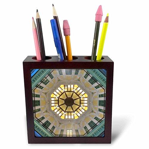 3dRose ph _ 207991_ 1Italia Orvieto italiano cerámica placa para la venta en la calle azulejos soporte para bolígrafos,...