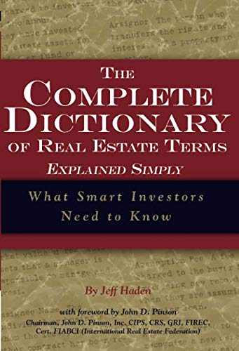 The Complete Dictionary of Real Estate Terms Explained Simply  What Smart Investors Need to Know