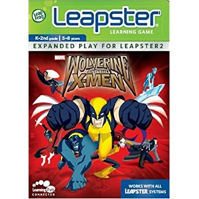 LeapFrog Leapster Learning Game: Wolverine: Toys & Games