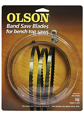 Olson Saw WB57262BL 62-Inch by 3/8 wide by 4 Teeth Per Inch Band Saw Blade