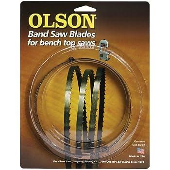 62 bandsaw blade. olson saw wb55362bl 62-inch by 1/4 wide 6 teeth per inch 62 bandsaw blade 1