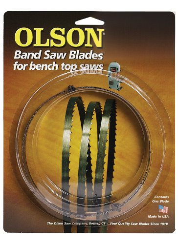 Olson Saw WB57256BL 56-1/8-Inch by 3/8 wide by 4 Teeth Per Inch Band Saw Blade ()