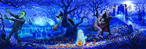 Halloween Scene 500 Piece Jigsaw Puzzle by SunsOut