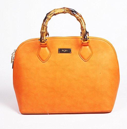 BCBG PARIS Handbag Bamboo Story Bowling Bag Reg Size 2015 Collection