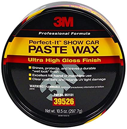 3M 39526 Perfect-It Show Car Paste Wax - 10.5 oz.
